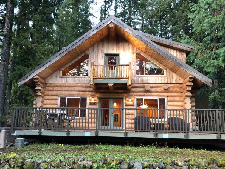 Mt. Baker Lodging - 33SL - Log Cabin - Hot Tub - Sleeps 8
