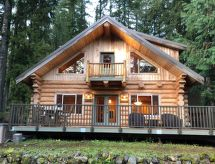 Mt. Baker Lodging - 33SL - Log Cabin - Hot Tub - Sleeps 8