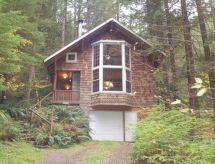 Mount Baker/Glacier - Ferienhaus 25SL Pet Friendly Cabin with WiFi!