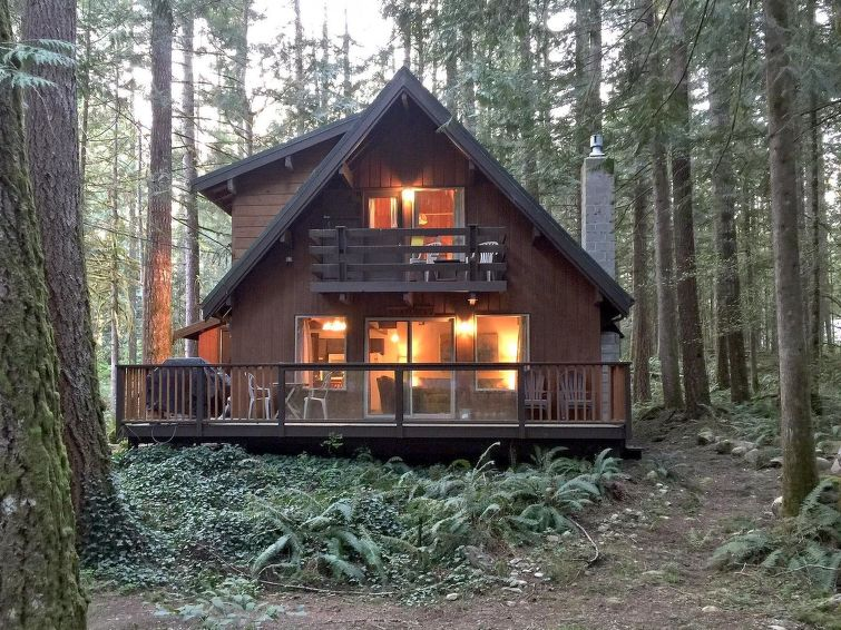 Ferie hjem 27GS Pet Friendly Cabin with WiFi! til mountainbike og med ovn