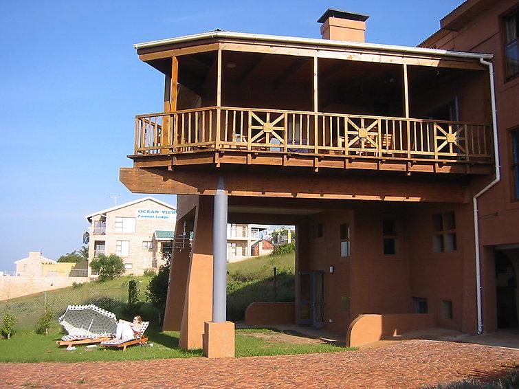 Villa The Gem (7p) met openhaard en balkon met uitzicht op de zee aan de oostkaap, Zuid-Afrika (I-812)